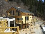 Find best timber supplies on Fordaq - Spruce Timber Framed Houses