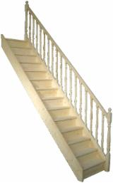 Find best timber supplies on Fordaq - PRO MOBILA SRL - Interior stairs and stair elements from softwood