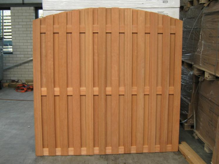 Kapur, Keruing, Kempas, red balau, Garden products: Fences