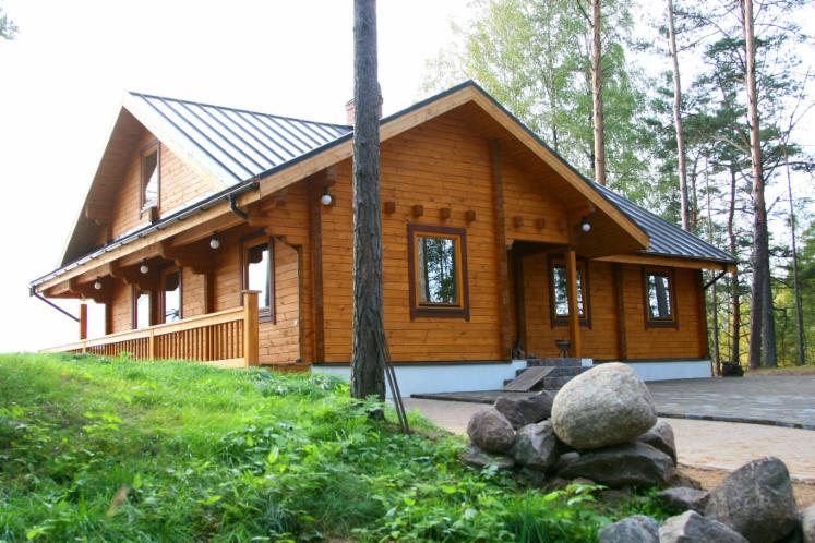 maison en bois en kit lettonie