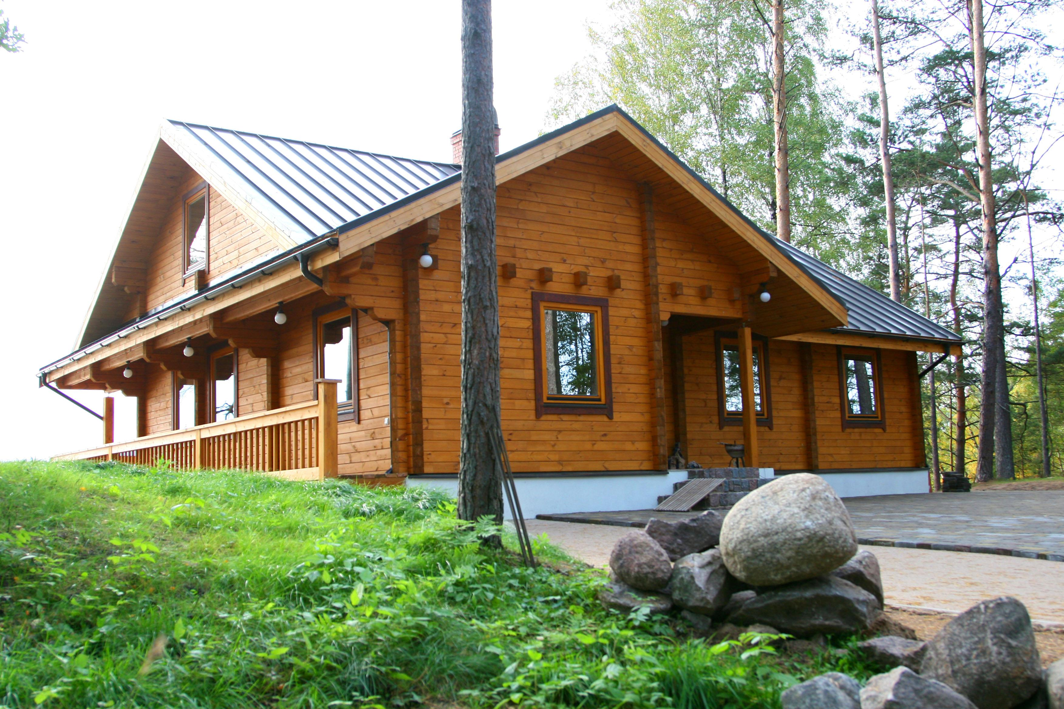 High quality wooden houses Timber house