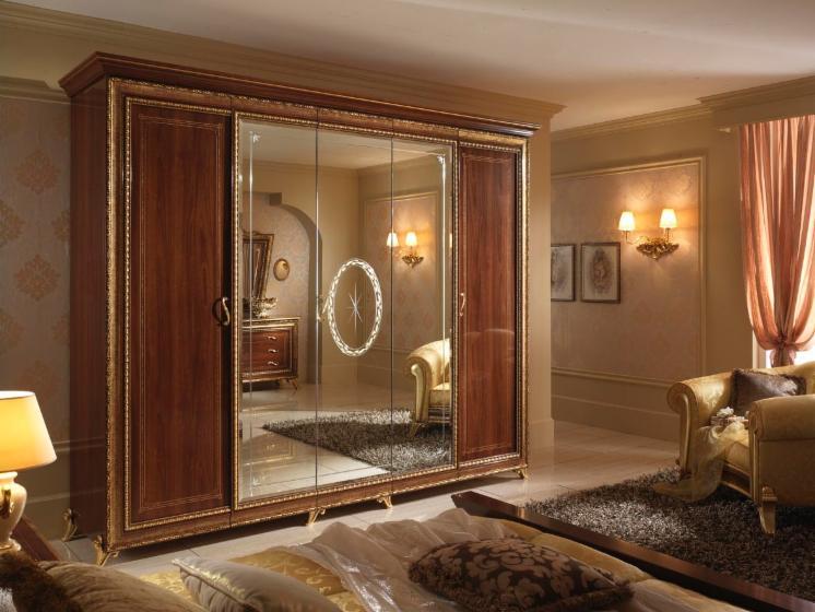 Camera da letto di design in stile classico - Chambre a coucher en bois hetre moderne ...