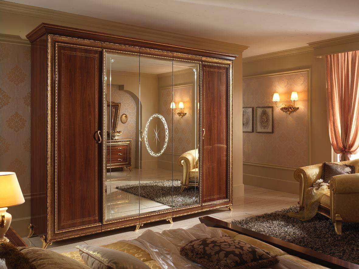 Chambre coucher classique de design for Ensemble meuble chambre a coucher