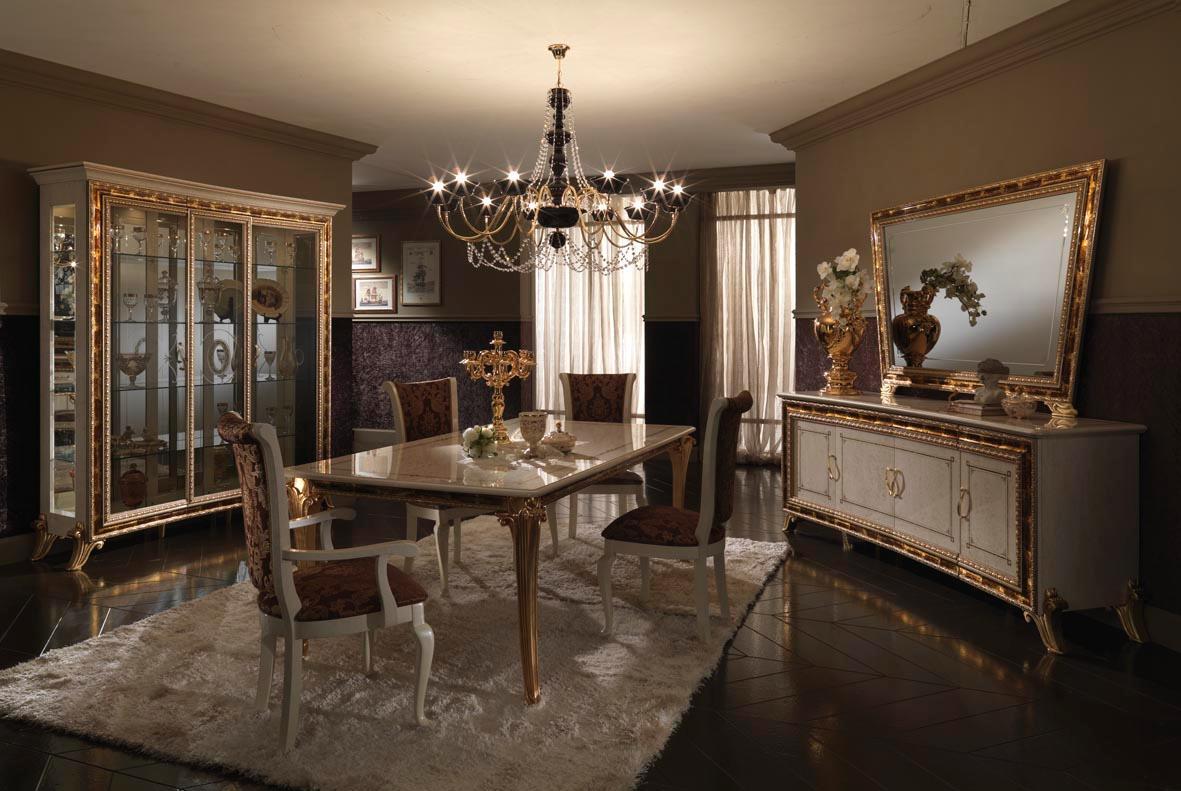 Set Sala Da Pranzo Traditional Design / Classique Design 1 100 Pezzi #926639 1181 791 Sala Da Pranzo Legno Massello