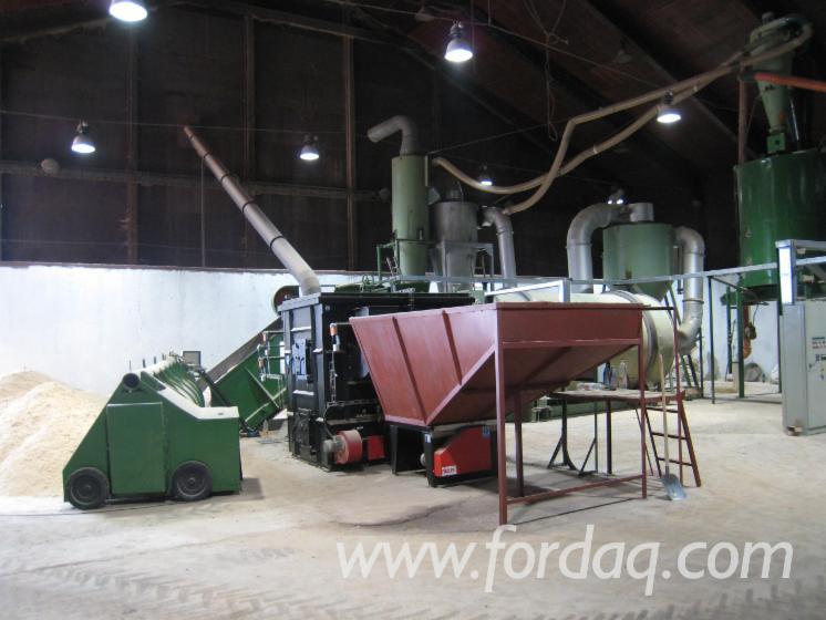 Vendo linee di produzione complete altri usato for Impianto produzione pellet usato