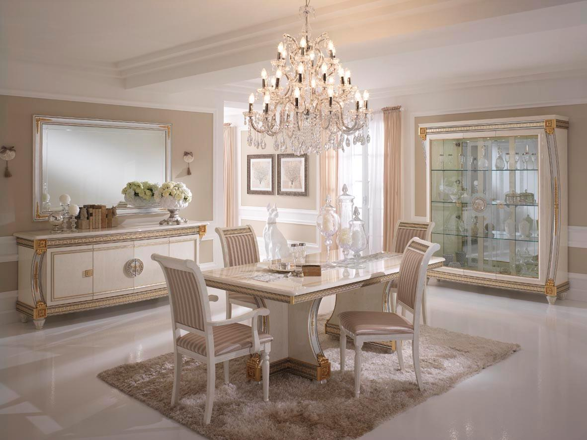 Set Sala Da Pranzo Traditional Design / Classique Design 1 100 Pezzi #80634B 1181 886 Nella Sala Da Pranzo In Francese
