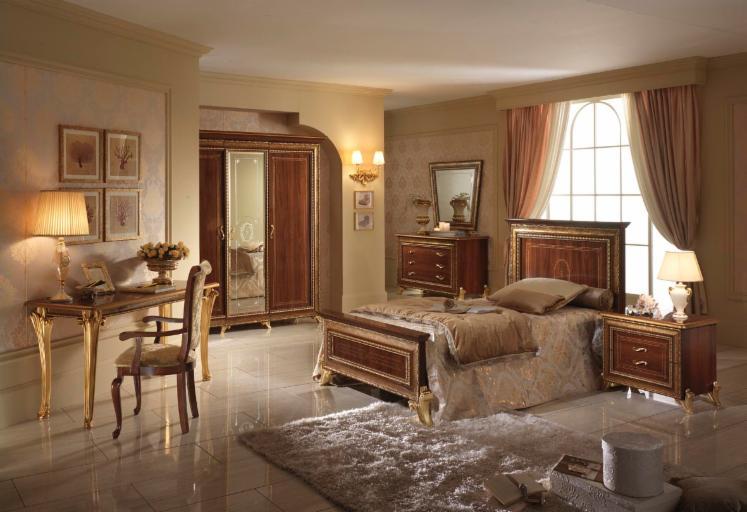 chambre coucher classique de design