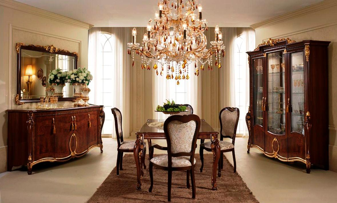 Design dining room in classic style for A dining room