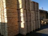 We offer new pallet, semi finished pallet, covers-with ispm 15 or with