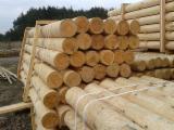 Poles, Pine (Pinus sylvestris) - Redwood