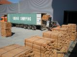Hardwood  Sawn Timber - Lumber - Planed Timber - KD Beech Beams from Romania, 25; 38; 50; 60; 70; 80 mm thick