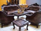 Traditional Living Room Furniture - Exporter of teak furniture from Indonesia