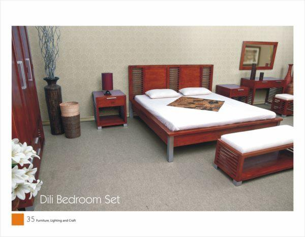 Vendo arredamento camera da letto contemporaneo legno massello tropicale asia - Vendo camera da letto usata ...