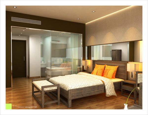 Vend ensemble pour chambre coucher contemporain bois for Chambre bois massif contemporain