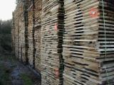 Hardwood  Unedged Timber - Flitches - Boules PEFC FFC - OAK UNEDGED LUMBER