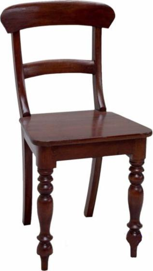 vend chaise de salle manger colonial feuillus africains teak. Black Bedroom Furniture Sets. Home Design Ideas