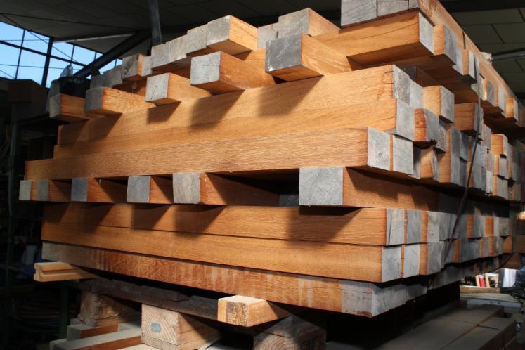Gut gemocht Sipo Mahagoni Kantholz 75 mm x 56 mm x 1m (gehobelt) ZM49