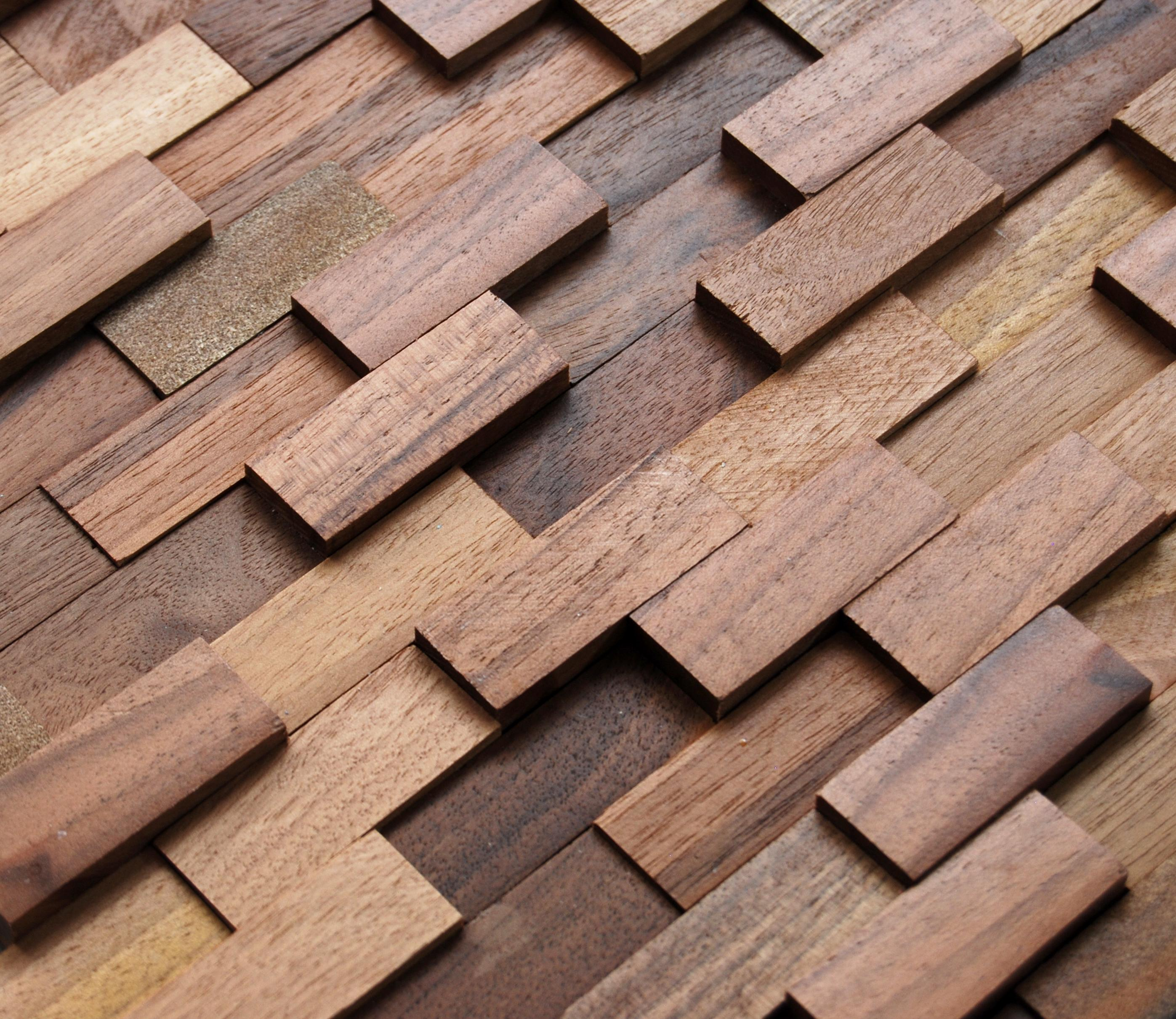 Mosaic wood - Wooden wall design ...