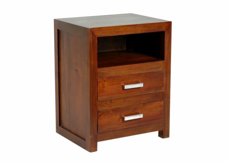 vend tables de chevet contemporain bois massif tropicaux asie. Black Bedroom Furniture Sets. Home Design Ideas