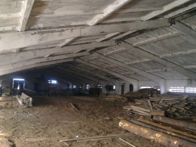 Продається приміщення під деревообробне виробництво
