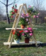 Buy Or Sell Wood Flower Pot - Planter - Flower stand FRG 5
