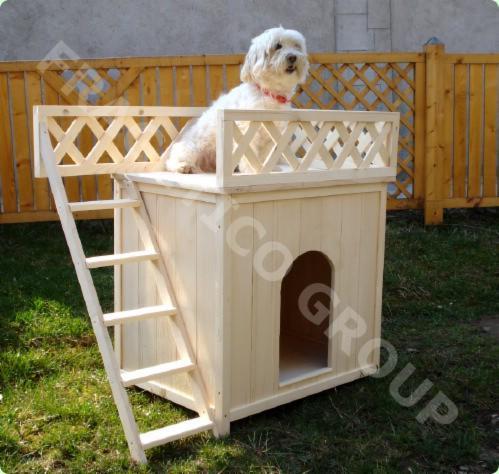 Hondenhok-Puffy