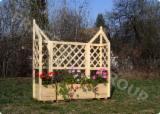 Kaufen Oder Verkaufen Holz Blumenkästen - Tröge - Tanne , Blumenkästen - Tröge
