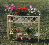 Négoce De Produits De Jardin En Bois - Support pour pots de fleur