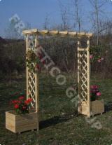 Gartenprodukte - Fichte  - Weißholz, Blumenkästen - Tröge