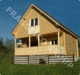 Case Din Lemn - Structuri Din Lemn Pt. Case  Molid - Casa de lemn FRG 84+10T