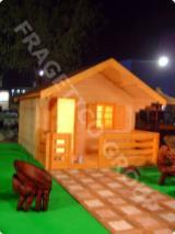 木质组件、木框、门窗及房屋 - 木框架房屋, 云杉