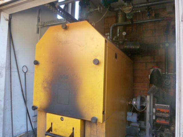 Oprema za obradu drveta i kotlovi, Kotlovi sa peći za iver
