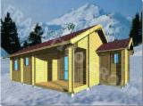 Buy Or Sell  Square Milled Log House - Wooden house FRG 56+6T+6S