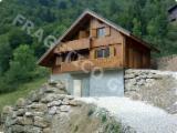 Case Din Lemn - Structuri Din Lemn Pt. Case  Molid - Casa din lemn FRG 139+7B