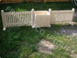 Ontwerp houten hek