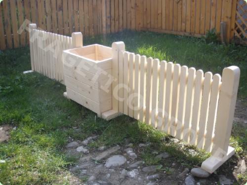 Progettare recinto di legno for Recinto in legno