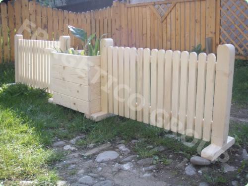 Cloture en bois Design