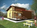 Wood Houses - Precut Timber Framing Poland - Wooden house FRG 72+10T