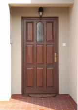 ISO-9000 Certified Finished Products - Siberian Pine Doors from Romania
