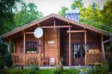 Square Milled Log House Wooden Houses - Comfortable family house with a total surface of 94,50 m2