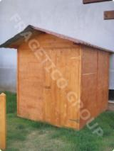 Garden Products Oak European Romania - Garden shed FRG 202020 - CU