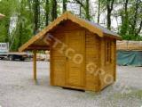 Trova le migliori forniture di legname su Fordaq - SC FRAGETICO GROUP SRL - Casetta da giardino FRG 202040-S