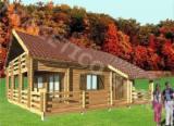 Case Din Lemn - Structuri Din Lemn Pt. Case  Molid - Casa de lemn FRG 98+27T+13B