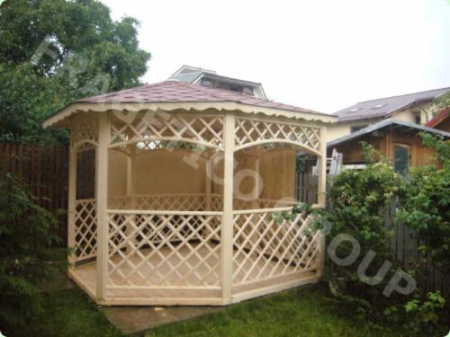 Ladin----Whitewood--Kiosk---Gazebo
