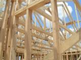 Wood Houses - Precut Timber Framing For Sale - Precut Roof Framing, Larch (Larix spp.)