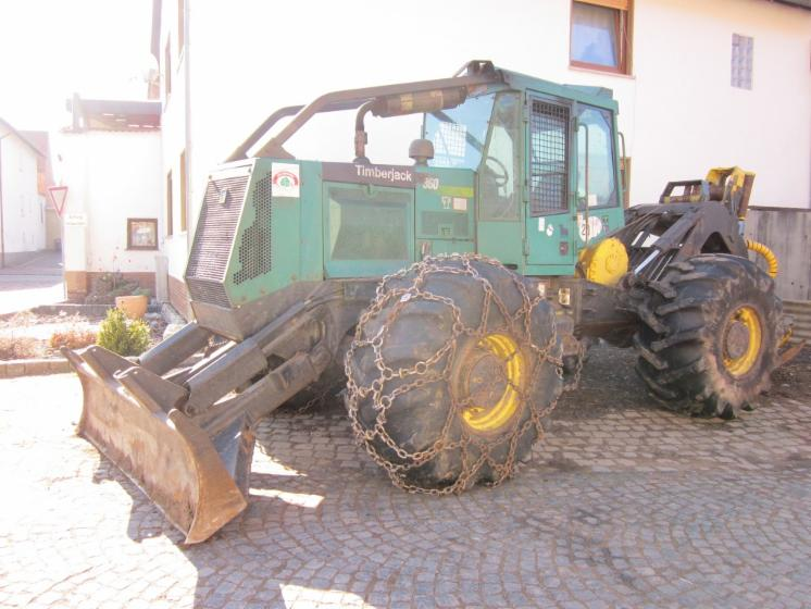 Used Timberjack 360 1997 Forest Tractor For Sale Germany