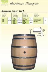 Find best timber supplies on Fordaq - Sell barrels BORDEAUX TRANSPORT 225L