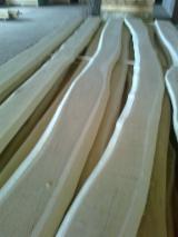 Hardwood  Logs - Cylindrical trimmed round wood, Acacia