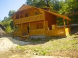 Maisons Bois Roumanie - Vend Maison À Ossature Bois Epicéa  - Bois Blancs Résineux Européens