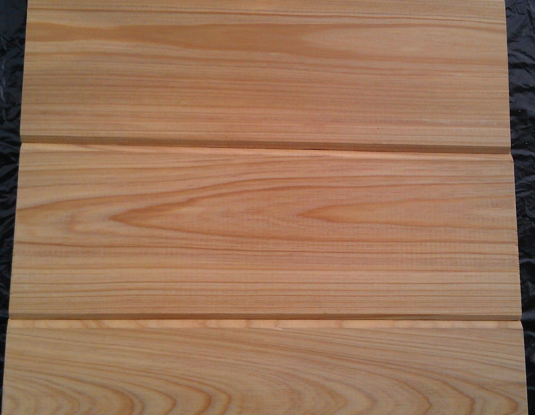 Cypress wood deck profiles 21mm and 25 mm from usa for Cypress siding cost